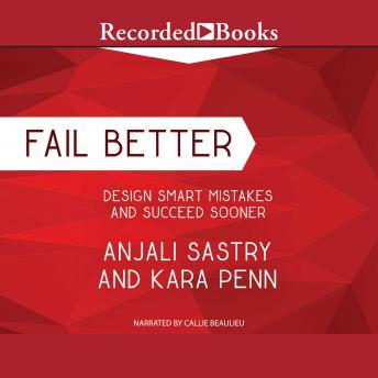 Fail Better: Design Smart Mistakes and Succeed Sooner sample.