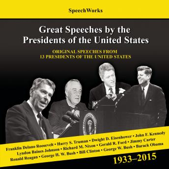 Great Speeches by the Presidents of the United States, 1933-2015, Jack London