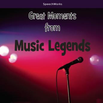Great Moments from Music Legends, Various Authors