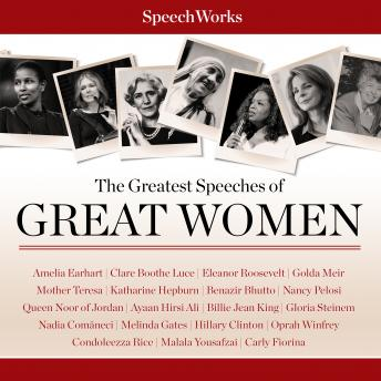 Greatest Speeches of Great Women, Audio book by Various Authors