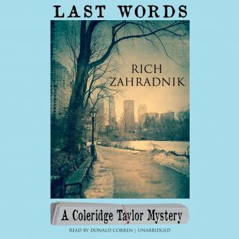 Last Words: A Coleridge Taylor Mystery