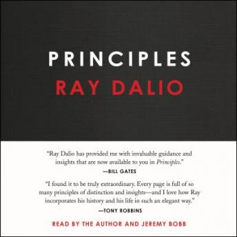 Principles: Life and Work, Audio book by Ray Dalio
