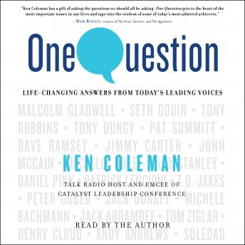 One Question, Ken Coleman