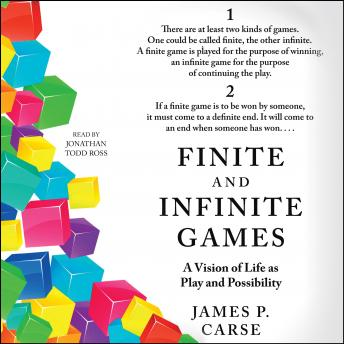 Finite and Infinite Games, James Carse