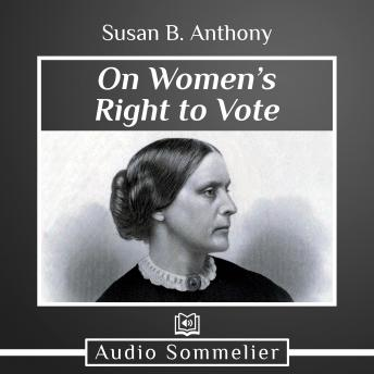 On Women's Right to Vote