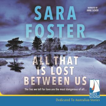 All That Is Lost Between Us, Sara Foster