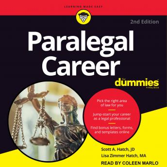 Paralegal Career For Dummies: 2nd Edition