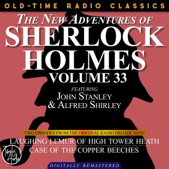 THE NEW ADVENTURES OF SHERLOCK HOLMES, VOLUME 33; EPISODE 1: LAUGHING LEMUR OF HIGH TOWER HEATH