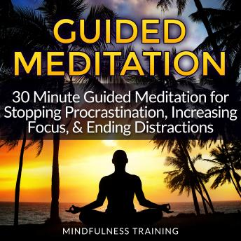 Guided Meditation: 30 Minute Guided Meditation for Stopping Procrastination, Increasing Focus, & Ending Distractions (Deep Sleep Self Hypnosis, Law of Attraction Affirmations, Anxiety & Stress Relief,