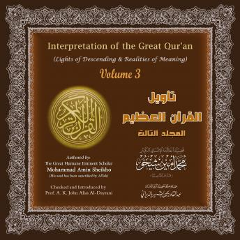 Interpretation of the Great Qur'an: Volume 3, Mohammad Amin Sheikho