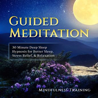 Guided Meditation: 30 Minute Deep Sleep Hypnosis for Better Sleep, Stress Relief, & Relaxation (Self Hypnosis, Affirmations, Guided Imagery & Relaxation Techniques)