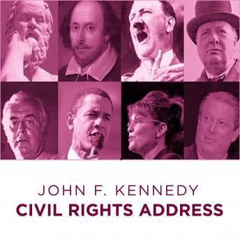 John F Kennedy Civil Rights Address
