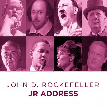 John D Rockefeller Jr address, John D Rockefeller Jr