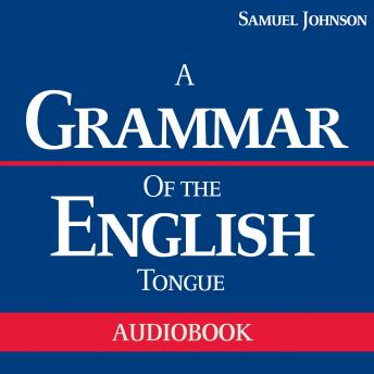 Grammar of the English Tongue sample.