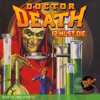 Doctor Death #1: 12 Must Die, Harold Ward
