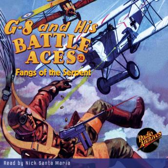 G-8 and His Battle Aces #58: Fangs of the Serpent, Robert J. Hogan