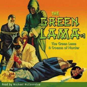 The Green Lama #1: The Green Lama & Croesus of Murder