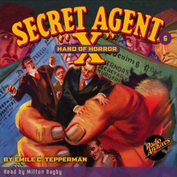 Secret Agent X  #6: Hand of Horror, Paul Chadwick