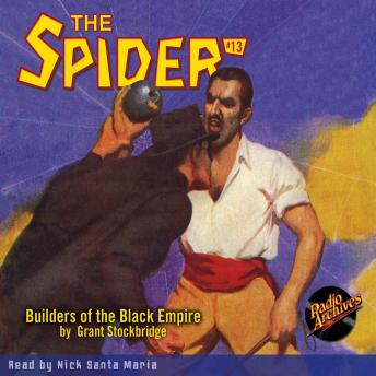 The Spider #13: Builders of the Black Empire