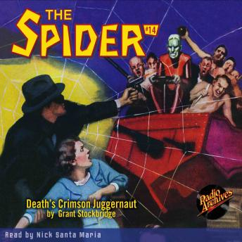 Spider #14: Death's Crimson Juggernaut, Grant Stockbridge