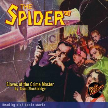 The Spider #19: Slaves of the Crime Master