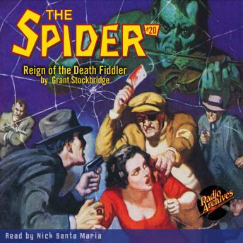 Spider #20: Reign of the Death Fiddler, Grant Stockbridge