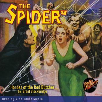 Spider #21: Hordes of the Red Butcher, Grant Stockbridge