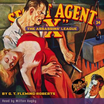 Secret Agent X #34: The Assassin's League, G.T. Fleming-Roberts