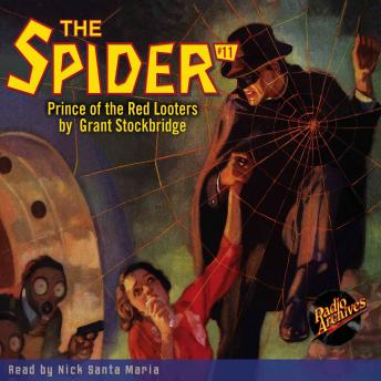 Spider #11: Prince of the Red Looters, Grant Stockbridge