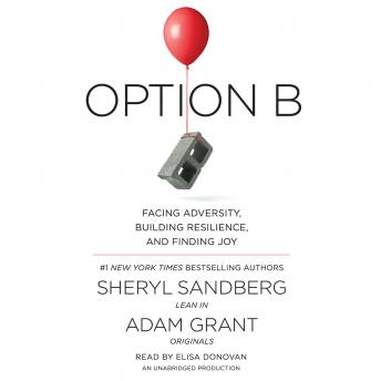 Option B: Facing Adversity, Building Resilience, and Finding Joy, Adam Grant, Sheryl Sandberg
