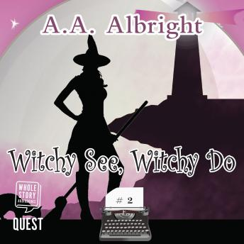Witchy See, Witchy Do: A Riddler's Edge Cozy Mystery #2