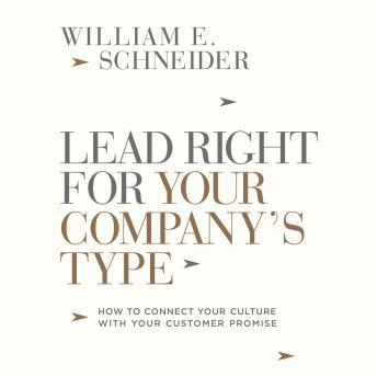 Lead Right for Your Company's Type details