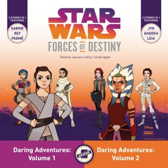 Star Wars Forces of Destiny: Daring Adventures, Volumes 1 & 2, Emma Carlson Berne