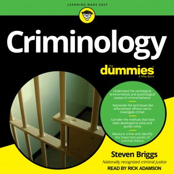 Criminology for Dummies, Steven Briggs