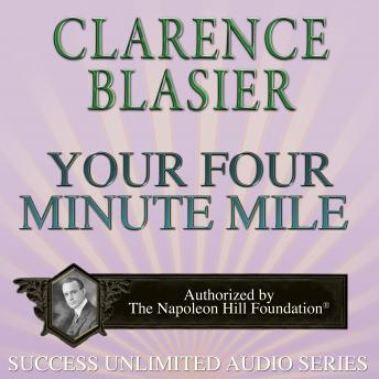 Your Four Minute Mile, Clarence Blasier
