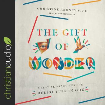Gift of Wonder: Creative Practices for Delighting in God, Christine Aroney-Sine