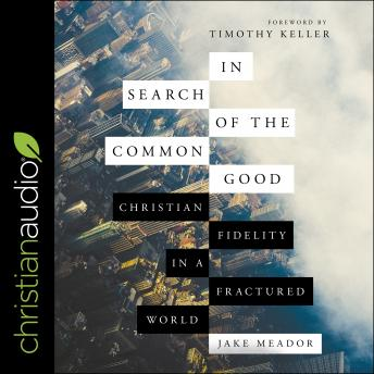 In Search of the Common Good: Christian Fidelity in a Fractured World, Jake Meador