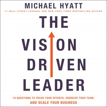 Vision-Driven Leader: 10 Questions to Focus Your Efforts, Energize Your Team, and Scale Your Business, Audio book by Michael Hyatt