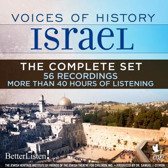 Download Voices of History Israel: The Complete Set by Assorted Authors