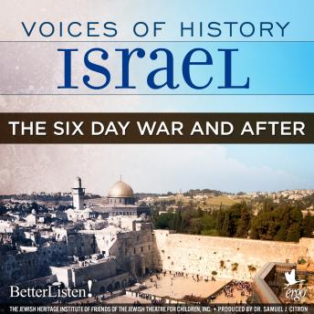 Download Voices of History Israel: The Six Day War and After by Danny Koenigstein, Teddy Kollek, Chaim Herzog, Mordechai Gur