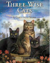 Download Three Wise Cats: A Christmas Story by Harold Konstantelos, Terry Jenkins-Brady