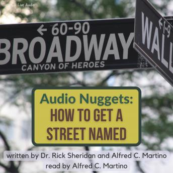Audio Nuggets: How To Name A Street