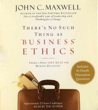 There's No Such Thing as, John C. Maxwell