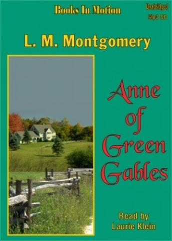 Anne of Green Gables, LM Montgomery