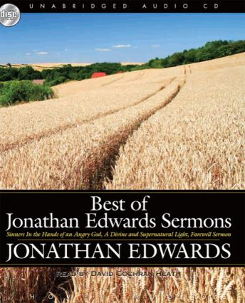 Best of Jonathan Edwards Sermons, Jonathan Edwards