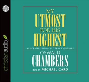 Download My Utmost for His Highest: An Updated Edition in Today's Language by Oswald Chambers