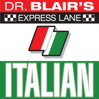 Dr. Blair's Express Lane: Italian, Robert Blair