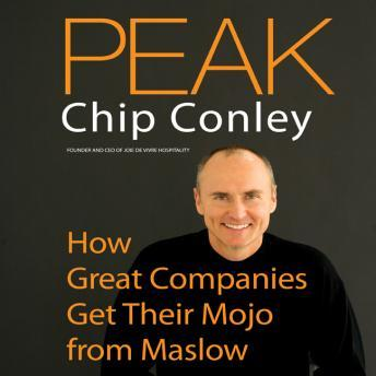 Peak: How Great Companies Get Their Mojo from Maslow, Chip Conley