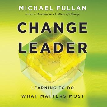 Change Leader: Learning to Do What Matters Most sample.