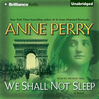 We Shall Not Sleep, Anne Perry